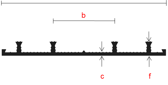 Schrumpf voegenband AA serie tricomere